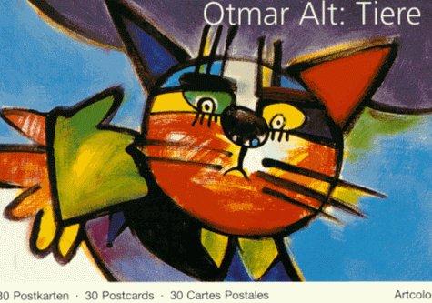 9783892618294: Otmar Alt: Tiere. 30 Postkarten /30 Postcards /30 Cartes Postales