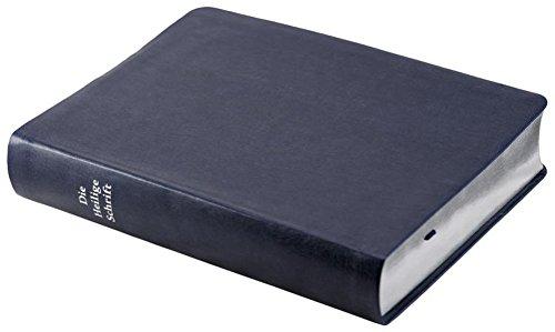 9783892870333: Die Bibel - kleinere Schreibrandausgabe (blau): Elberfelder Überarbeitung 2003, Edition CSV-Hückeswagen, Silberschnitt, hochwertiges softweiches Kunstleder, dunkelblau, mit Karten