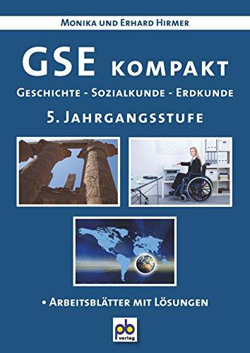 9783892911104: GSE kompakt. 5. Jahrgangsstufe: Geschichte - Sozialkunde - Erdkunde