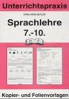 Sprachlehre, 7.-10. Jahrgangsstufe: Seyler, Karl-Hans