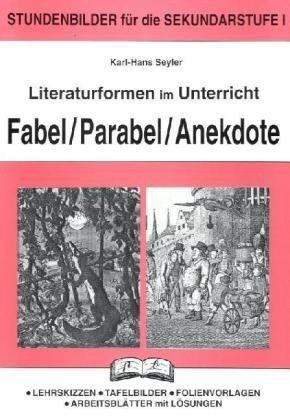 9783892915720 Literaturformen Im Unterrichtfabel Parabel