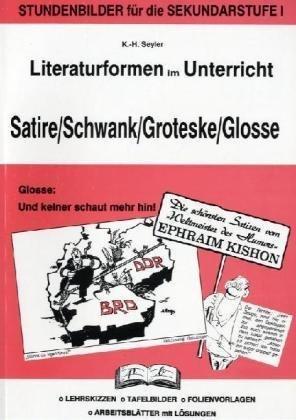9783892915744: Satire, Schwank, Groteske, Glosse