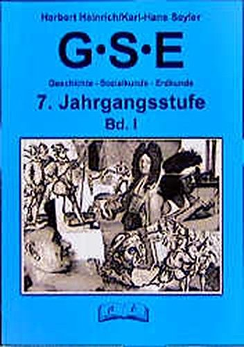 9783892916949: GSE - Geschichte, Sozialkunde, Erdkunde, 7. Jahrgangsstufe