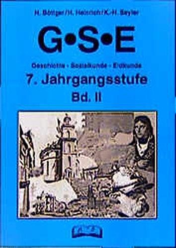 9783892916956: GSE - Geschichte, Sozialkunde, Erdkunde, 7. Jahrgangsstufe