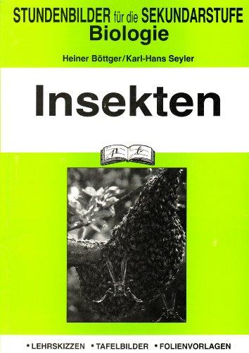 9783892919292: Insekten: Stundenbilder für die Sekundarstufe