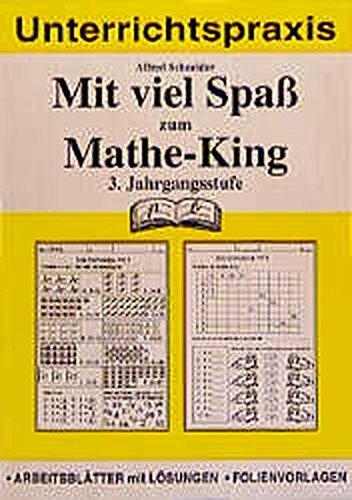 9783892919490: Mit viel Spaß zum Mathe-King, 3. Jahrgangsstufe