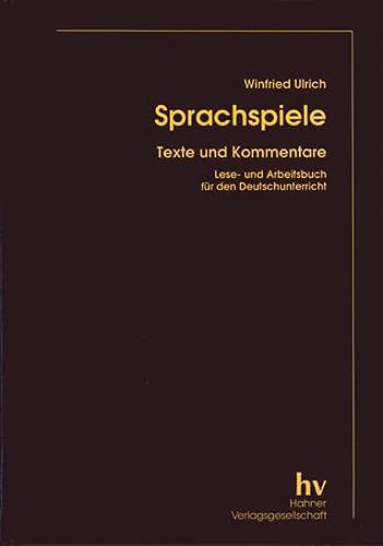 Sprachspiele: Winfried Ulrich
