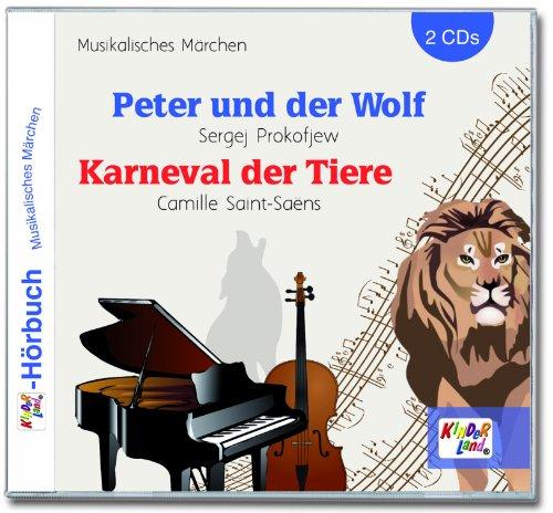9783893219445: Peter und der Wolf (2 CDs)