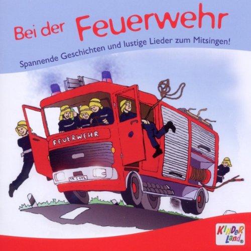 9783893219902: Bei der Feuerwehr, Audio-CD