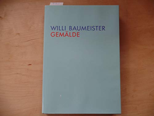 9783893221363: Willi Baumeister: Paintings