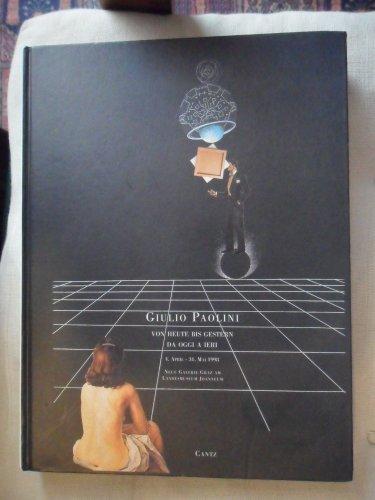9783893223572: Giulio Paolini (Italian Edition)