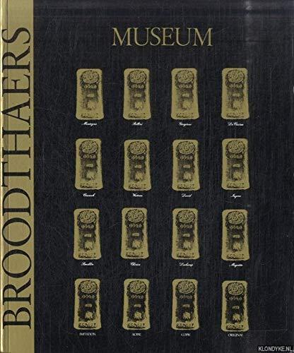 9783893228362: Broodthaers - Museum