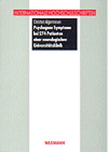 9783893256730: Psychogene Symptome bei 274 Patienten einer neurologischen Universitätsklinik