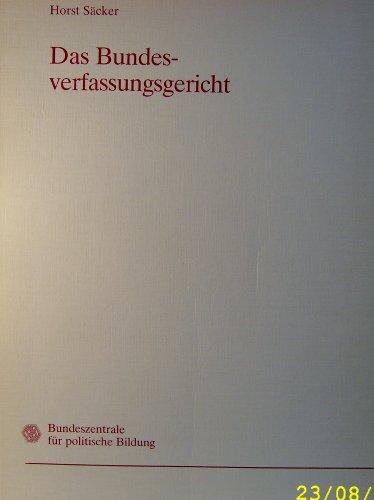 9783893310586: Das Bundesverfassungsgericht (German Edition)