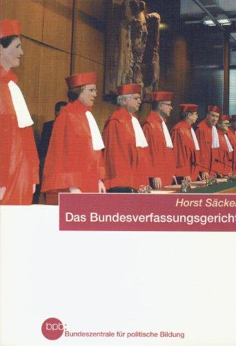 9783893314935: Das Bundesverfassungsgericht (Schriftenreihe Band 405)