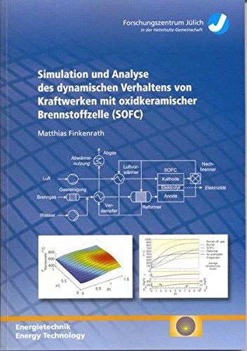 9783893364145: Simulation und Analyse des dynamischen Verhaltens von Kraftwerken mit oxidkeramischer Brennstoffzelle (SOFC) (Livre en allemand)