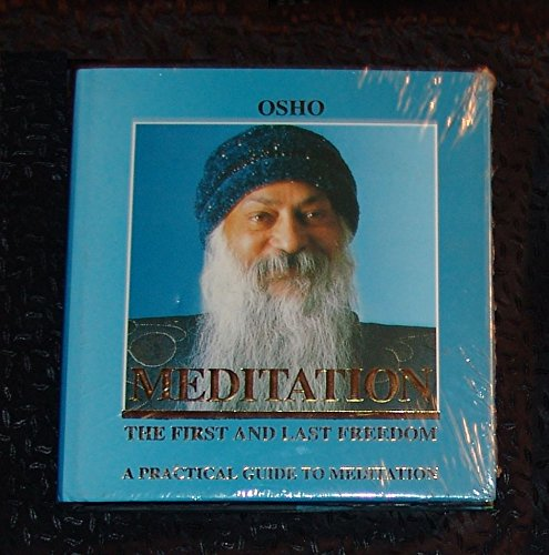 9783893381289: Meditation: The First and Last Freedom - A Practical Guide to Meditation