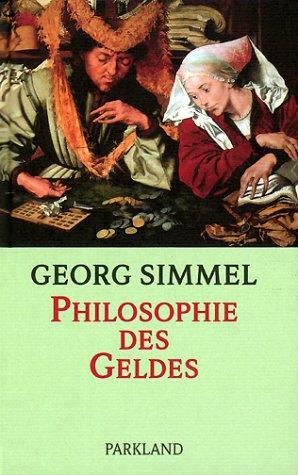 9783893400065: Philosophie des Geldes