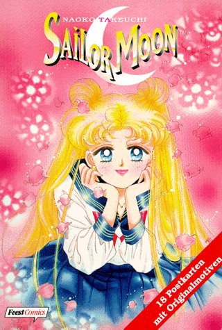 9783893435371: Sailormoon: 18 Postkarten Mit Originalmotiven