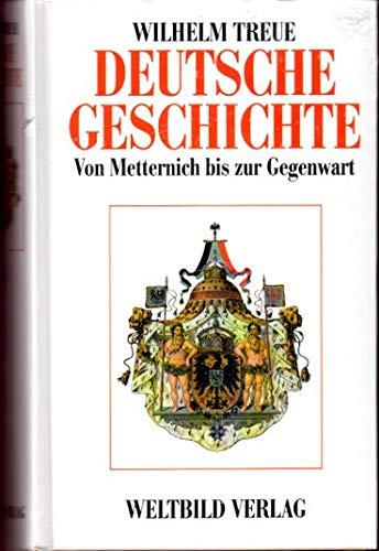 9783893500628: Deutsche Geschichte von den Anfängen bis zur Gegenwart. Band 2 : Von Metternich bis zur Gegenwart (Livre en allemand)