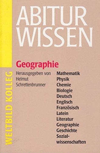 9783893501649: Abitur Wissen Mathematik, Physik, Chemie, Biologie, Deutsch, Englisch, Französisch, Latein, Literatur, Geographie, Geschichte, Sozialwissenschaften