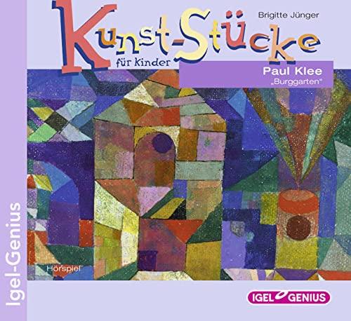 9783893533756: Kunst-Stucke fur Kinder: Paul Klee - Burggarten