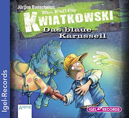 9783893534661: Ein Fall für Kwiatkowski - Das blaue Karussell