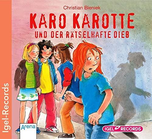 9783893539482: Karo Karotte und der ratselhafte Dieb. CD