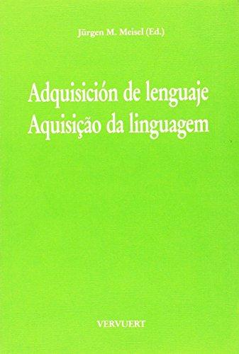 9783893548163: Adquisición de lenguaje /Aquisição da linguagem