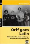 9783893588299: Orff goes Latin.