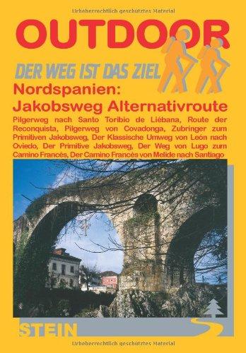 9783893925414: Nordspanien: Jakobsweg. Alternativrouten.