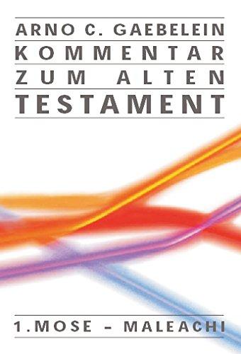 Kommentar zum Alten Testament (Livre en allemand) (9783893976348) by [???]