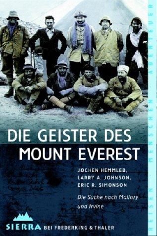 9783894051082: Die Geister des Mount Everest