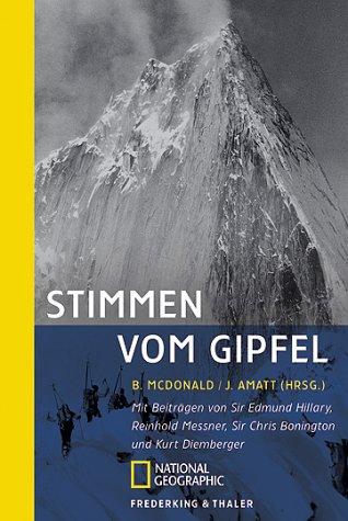 9783894052225: Stimmen vom Gipfel