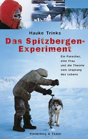 9783894054793: Das Spitzbergen-Experiment.
