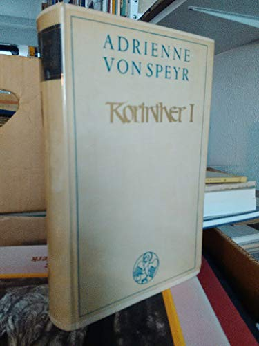 Korinther I: Adrienne von Speyr