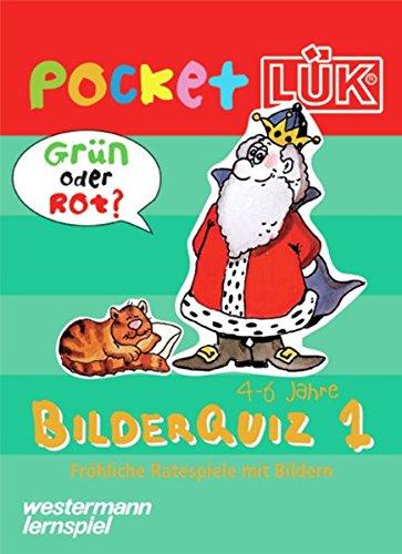 9783894144241: L�K pocket. Bilderquiz 1: Fr�hliche Ratespiele mit Selbstkontrolle ( 4- 6 Jahre)