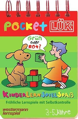 9783894144715: pocketLÜK: KinderLernSpielSpaß: 3-5 Jahre