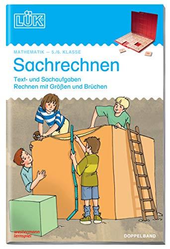 LÜK: Sachrechnen Doppelband: Klasse 5/6 Text- und: Vogel, Heinz, Dahlke,