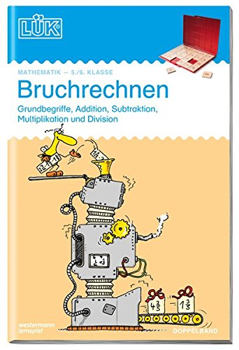 9783894145583: LÜK Bruchrechnen. 5./6. Klasse. Doppelband