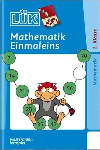 9783894145606: LUK, Ubungshefte, Mathematik 1 mal 1: Training der Rechenfertigkeit des 1x1 sowie das Uben und Erfassen unterschiedlicher struktureller Zusammenhange ... (Division, Aufteilen, Verteilen)