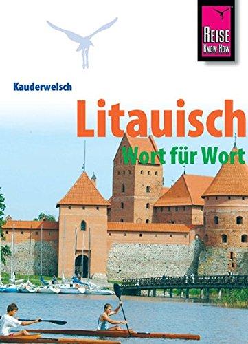 Kauderwelsch, Litauisch Wort für Wort - Jähnert, Katrin