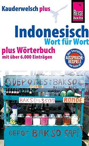9783894167172: Kauderwelsch plus Indonesisch - Wort f�r Wort: plus W�rterbuch mit �ber 6000 Eintr�gen