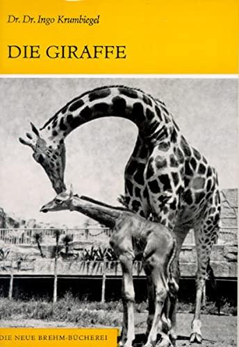9783894328009: Die Giraffe: Giraffa camelopardalis