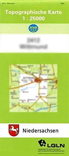 9783894350475: Blomberg 1 : 25 000. (TK 2411/N)