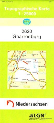 Gnarrenburg 1 : 25 000. (TK 2620/N)