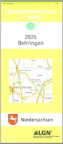 Behringen 1 : 25 000. (TK 2825/N): Heiremans, Marc