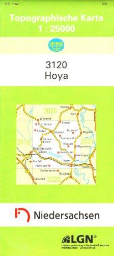 9783894352172: Hoya 1 : 25 000. (TK 3120/N)