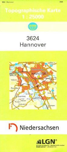 9783894353407: Hannover 1 : 25 000. (TK 3624/N)