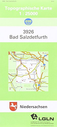 9783894353865: Bad Salzdetfurth 1 : 25 000. (TK 3926/N)